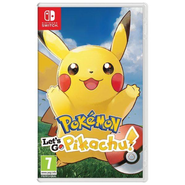 Pokemon: Let's Go Pikachu Nintendo Switch