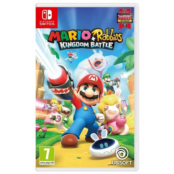 Mario Rabbids Kingdom Battle Nintendo Switch